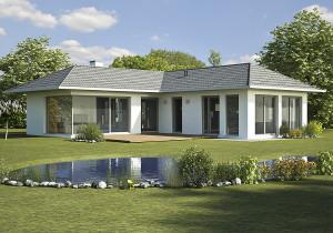 Fertighaus bungalow satteldach  Fertighäuser - der große Vergleich | fertighaus-sofortvergleich.de